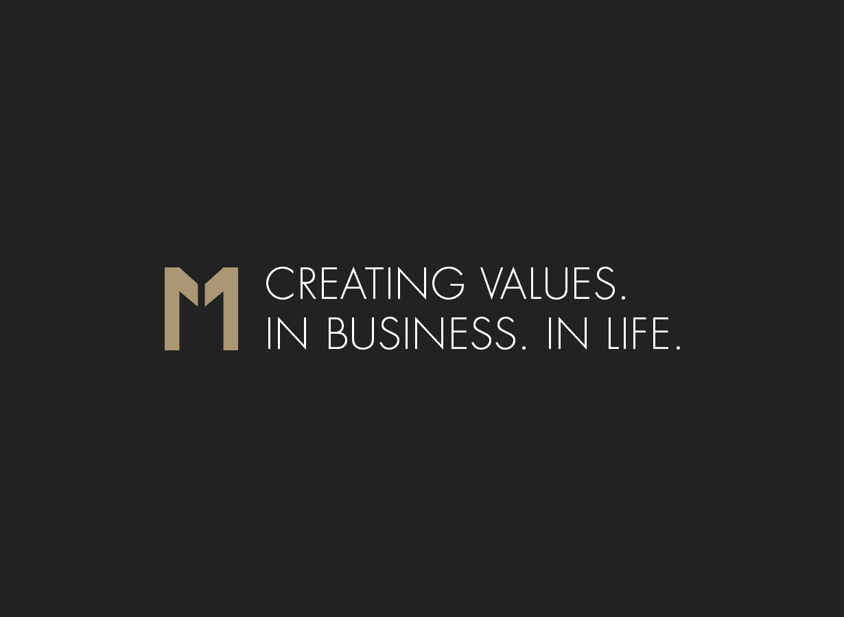 Creating Values. In Business. In Life.